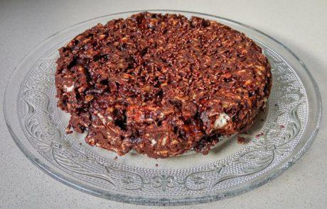 עוגת מצות ושוקולד – סבתא אלה
